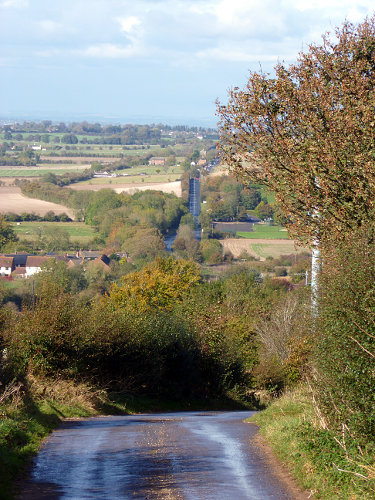 Roman road from Cirencester to Mildenhall